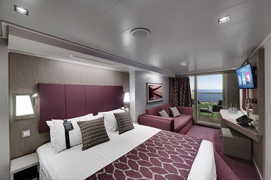 MSC Seaside, Suite